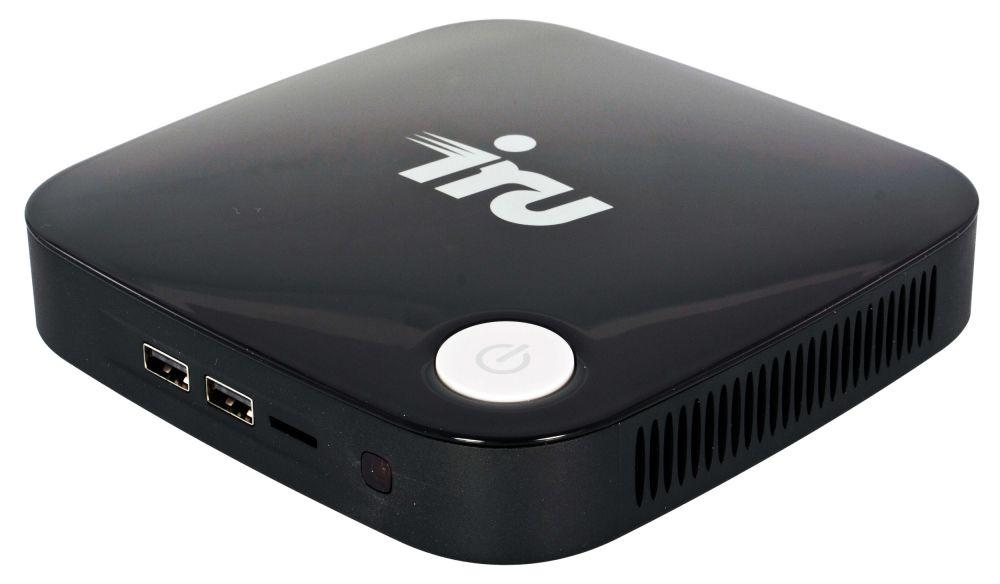Неттоп IRU 317 Cel J3160 (1.6)/HDG400/CR/noOS/GbitEth/WiFi/BT/36W/черный
