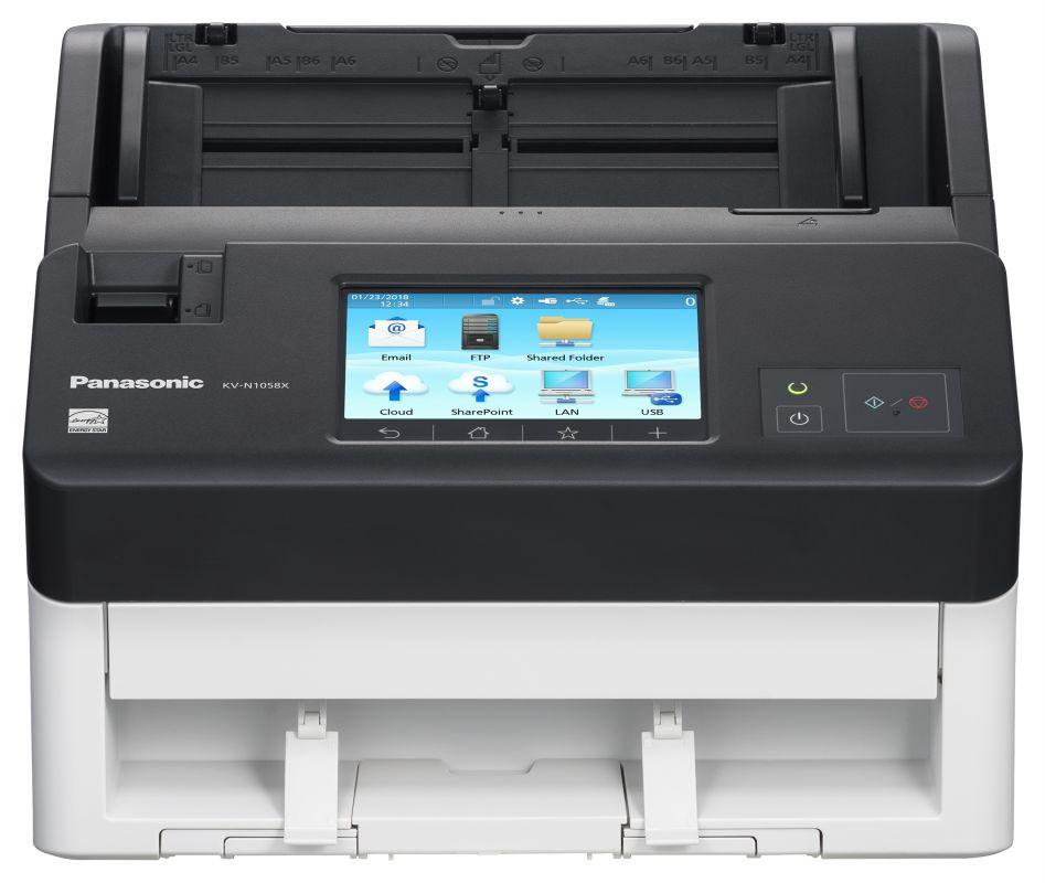 Сканер Panasonic KV-N1058X-U A4 белый/серый