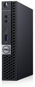 ПК Dell Optiplex 5070 Micro i5 9500T (2.2)/8Gb/SSD256Gb/UHDG 630/Windows 10 Professional 64/GbitEth/WiFi/BT/90W/клавиату