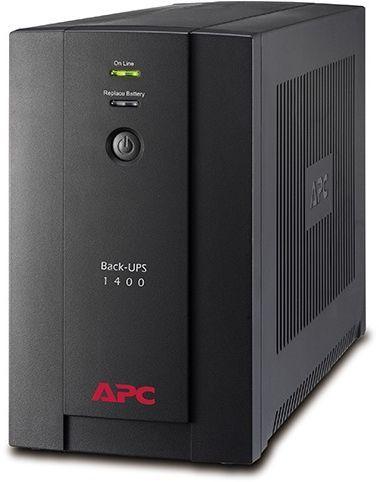 ИБП APC Back-UPS BX1400U-GR 700Вт 1400ВА черный