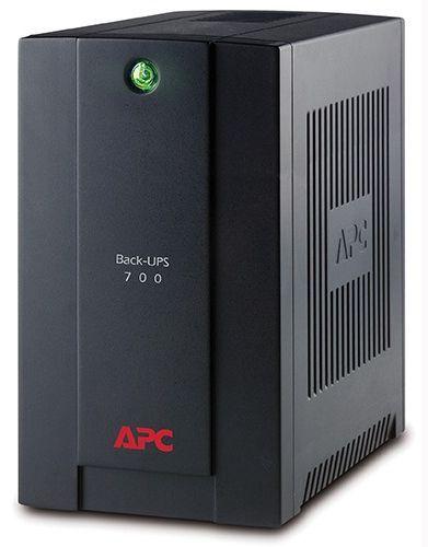 ИБП APC Back-UPS BX700U-GR 390Вт 700ВА черный