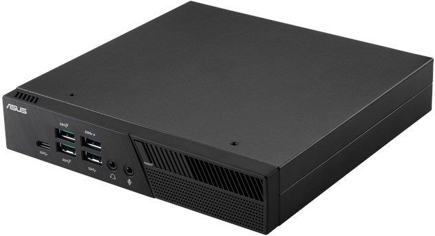 Неттоп Asus PB60-B3123MC i3 8100T (3.1)/4Gb/SSD128Gb/UHDG 630/noOS/GbitEth/WiFi/BT/65W/черный