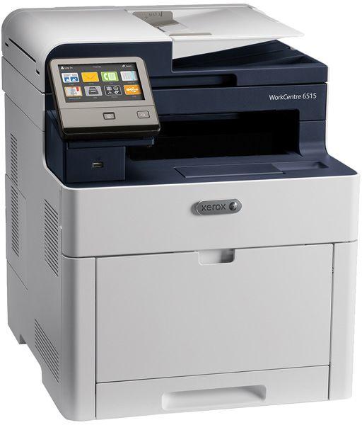 МФУ светодиодный Xerox WorkCentre 6515DNI (6515V_DNI) A4 Duplex WiFi белый/синий