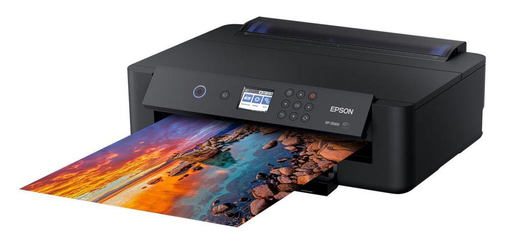 Принтер струйный Epson Expression Photo HD XP-15000 (C11CG43402) A3+ Net WiFi USB RJ-45 черный
