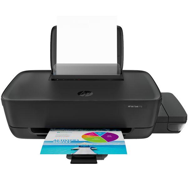 Принтер струйный HP Ink Tank 115 (2LB19A) A4 USB черный