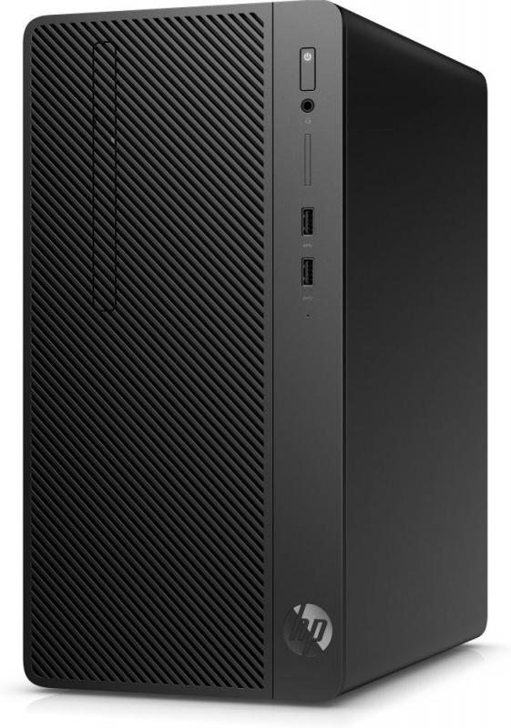 ПК HP 290 G2 MT i5 8500 (3)/4Gb/500Gb 7.2k/UHDG 630/DVDRW/CR/Windows 10 Professional 64/GbitEth/180W/клавиатура/мышь/чер