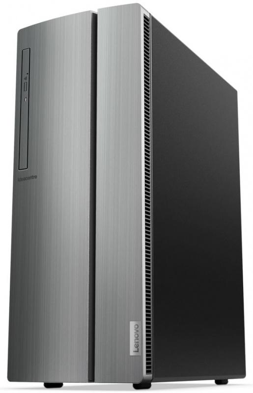 ПК Lenovo IdeaCentre 510-15ICB MT i5 8400 (2.8)/8Gb/1Tb 7.2k/GTX1050Ti 4Gb/DVDRW/CR/Free DOS/GbitEth/210W/серебристый