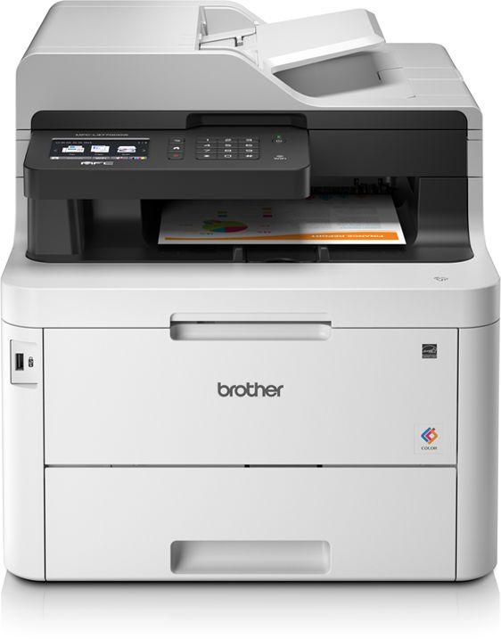 МФУ светодиодный Brother MFC-L3770CDW (MFCL3770CDWR1) A4 Duplex Net WiFi белый/черный