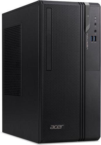 ПК Acer Veriton ES2730G MT i3 8100 (3.6)/8Gb/SSD128Gb/UHDG 630/Endless/GbitEth/180W/черный