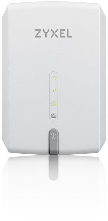Повторитель беспроводного сигнала Zyxel WRE6602-EU0101F AC1200 Wi-Fi белый