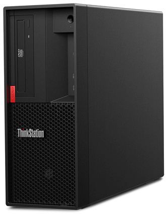 ПК Lenovo ThinkStation P330 MT i7 9700 (3)/8Gb/SSD256Gb/UHDG 630/DVDRW/CR/Windows 10 Professional 64/GbitEth/400W/клавиа