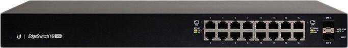 Коммутатор Ubiquiti EdgeSwitch ES-16-150W-EU 16G 2SFP 16PoE+ управляемый