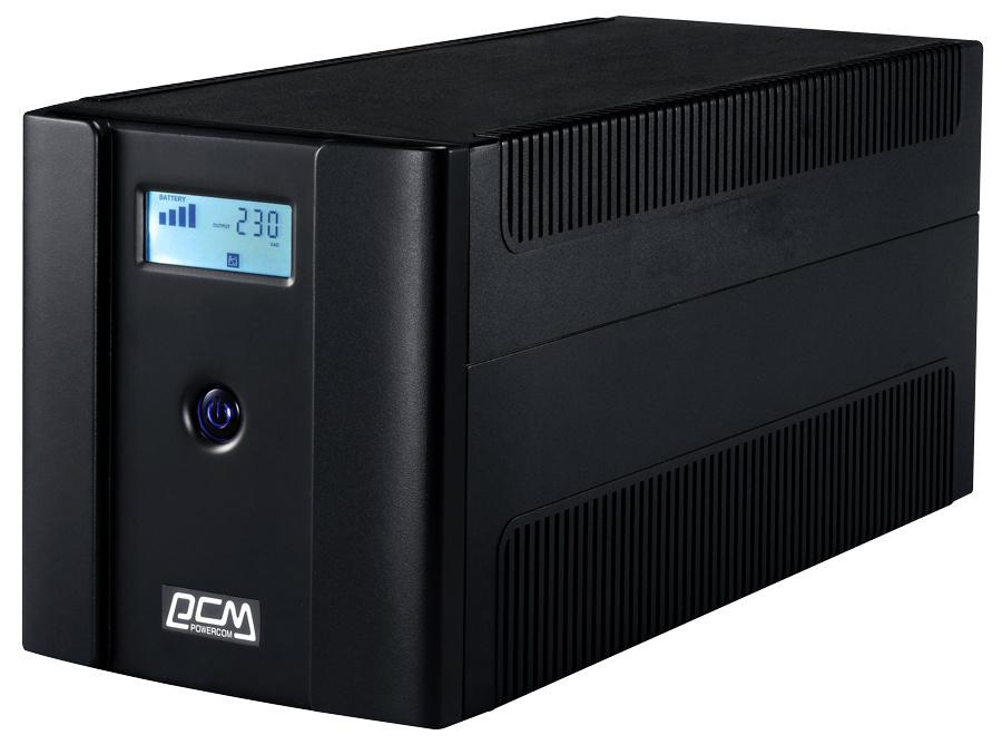 ИБП Powercom Raptor RPT-1025AP LCD 615Вт 1025ВА черный