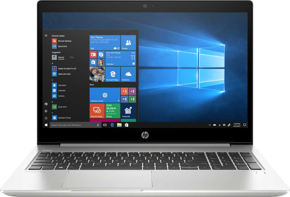Ноутбук HP ProBook 450 G6 Core i3 8145U/4Gb/SSD128Gb/Intel UHD Graphics 620/15.6