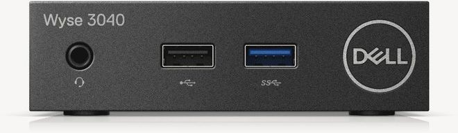 Тонкий Клиент Dell Wyse Thin 3040 (1.44)/2Gb/SSD8Gb/ThinOs/GbitEth/15W/черный