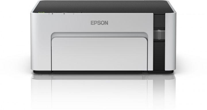 Принтер струйный Epson M1100 (C11CG95405) A4 USB серый/черный