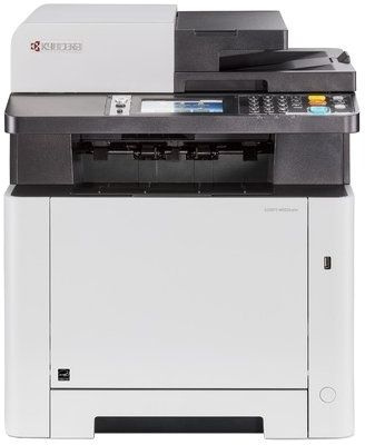 МФУ лазерный Kyocera Color M5526cdw (1102R73NL0) A4 Duplex Net WiFi белый/черный