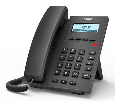 Телефон IP Fanvil X1P черный