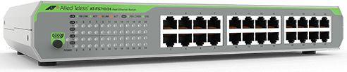 Коммутатор Allied Telesis AT-FS710/24-50 24x100Mb неуправляемый