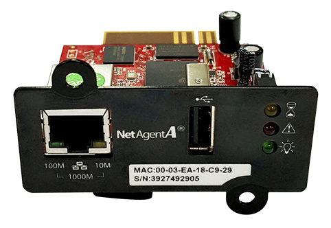Модуль Powercom DA807 SNMP 1 port + USB (short)