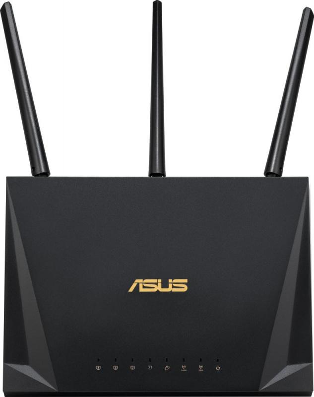 Роутер беспроводной Asus RT-AC85P AC2400 10/100/1000BASE-TX черный