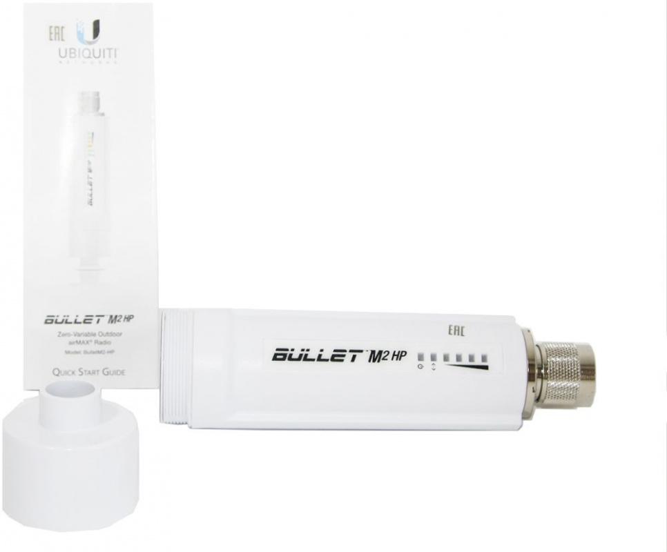 Точка доступа Ubiquiti BULLETM2-HP 10/100BASE-TX (упак.:1шт)