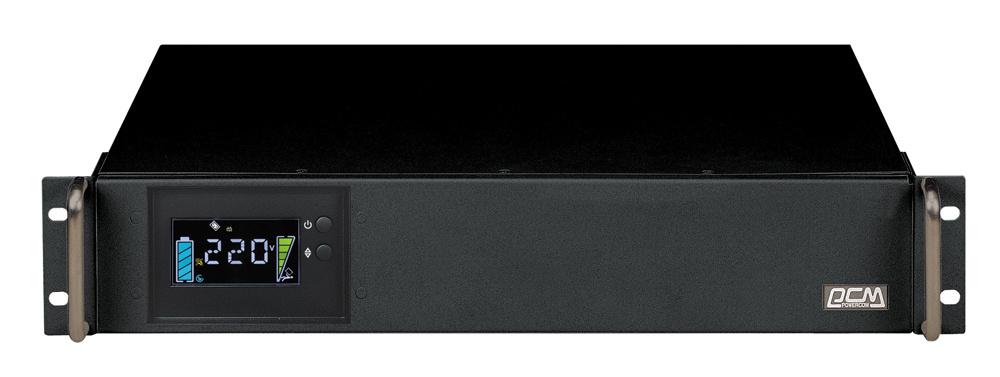 Источник бесперебойного питания Powercom King Pro RM KIN-2200AP LCD 1320Вт 2200ВА черный