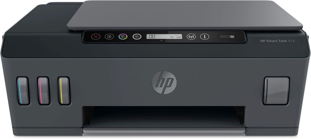 МФУ струйный HP Smart Tank 515 AIO (1TJ09A) A4 WiFi BT USB черный