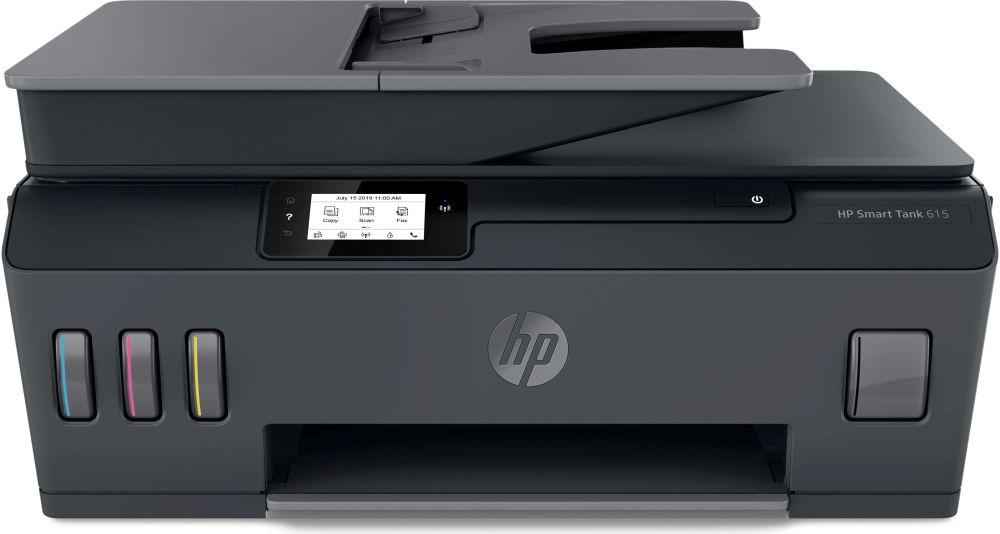МФУ струйный HP Smart Tank 615 AIO (Y0F71A) A4 WiFi BT USB черный