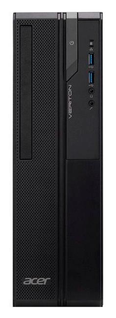 ПК Acer Veriton EX2620G SFF Cel J4005 (2)/4Gb/SSD128Gb/UHDG 600/Endless/GbitEth/65W/черный