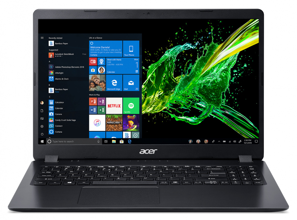 Ноутбук Acer Aspire 3 A315-42-R599 Athlon 300U/4Gb/500Gb/AMD Radeon Vega 3/15.6