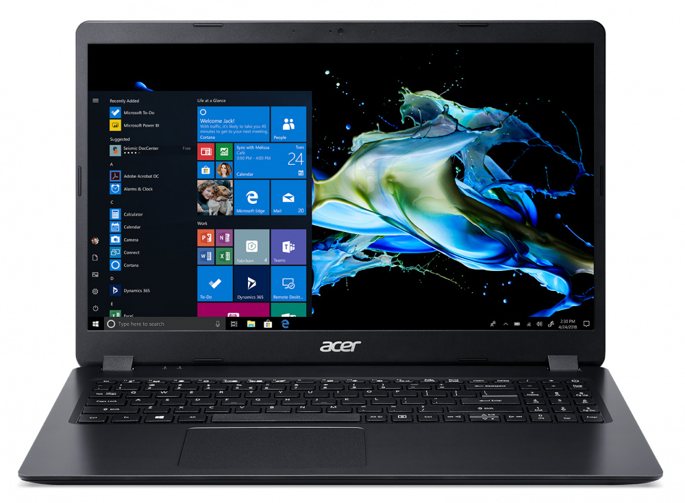 Ноутбук Acer Extensa 15 EX215-51-385A Core i3 10110U/4Gb/SSD128Gb/Intel UHD Graphics/15.6
