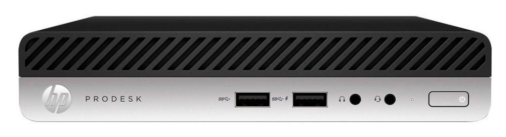 ПК HP ProDesk 405 G4 Mini Ath Pro 200E (3.2)/8Gb/SSD256Gb/Vega 3/Windows 10 Professional 64/GbitEth/65W/клавиатура/мышь/