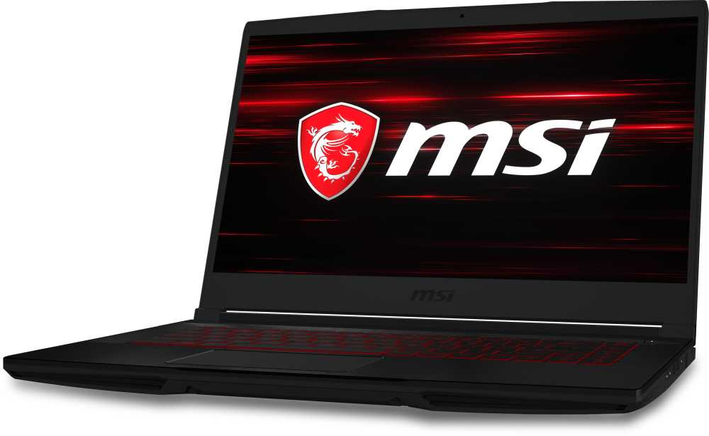 Ноутбук MSI GF63 Thin 9RCX-684XRU Core i5 9300H/8Gb/1Tb/SSD128Gb/nVidia GeForce GTX 1050 Ti 4Gb/15.6