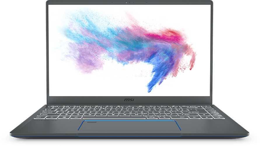 Ноутбук MSI Prestige 14 A10SC-059RU Core i5 10210U/16Gb/SSD512Gb/nVidia GeForce GTX 1650 MAX Q 4Gb/14