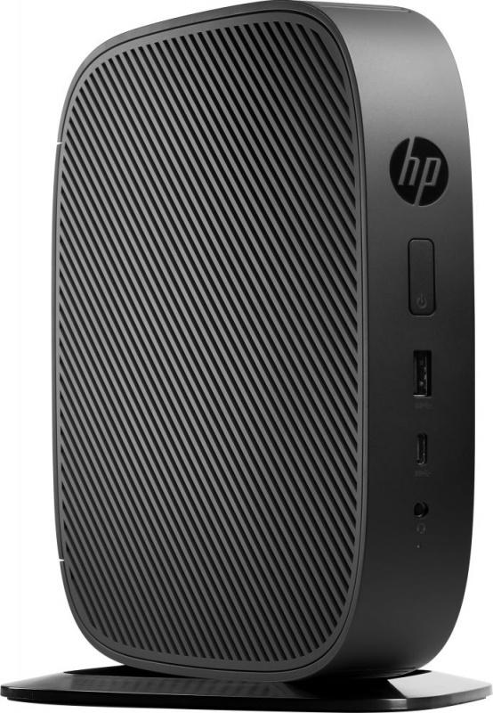 Тонкий Клиент HP t530 GX-215JJ (1.5)/4Gb/SSD32Gb/R2E/Windows 10 IoT Enterprise 64/GbitEth/45W/клавиатура/мышь/черный