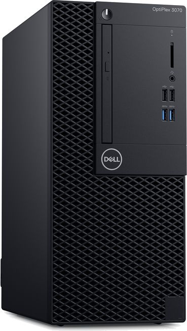 ПК Dell Optiplex 3070 MT i3 9100 (3.6)/4Gb/1Tb 7.2k/UHDG 630/DVDRW/Windows 10 Professional 64/GbitEth/260W/клавиатура/мы