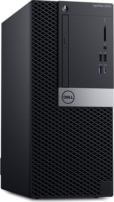 ПК Dell Optiplex 5070 SFF i5 9500 (3)/8Gb/1Tb 7.2k/UHDG 630/DVDRW/Windows 10 Professional/GbitEth/200W/клавиатура/мышь/ч