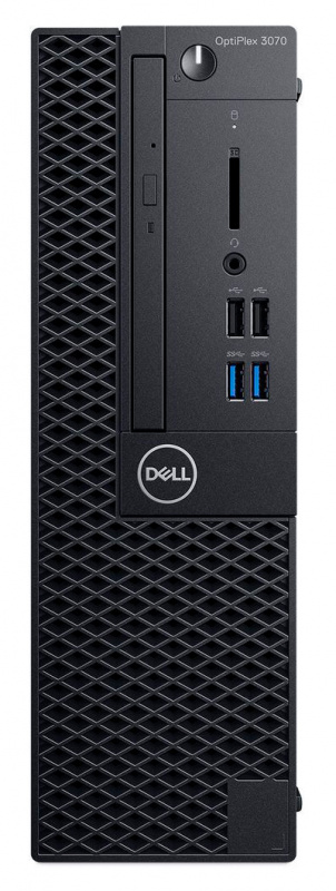 ПК Dell Optiplex 3070 SFF i5 9500 (3)/8Gb/1Tb 7.2k/UHDG 630/DVDRW/Windows 10 Professional/GbitEth/200W/клавиатура/мышь/ч