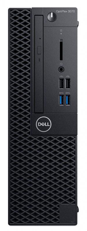 ПК Dell Optiplex 3070 SFF i5 9500 (3)/8Gb/1Tb 7.2k/UHDG 630/DVDRW/Linux Ubuntu/GbitEth/200W/клавиатура/мышь/черный