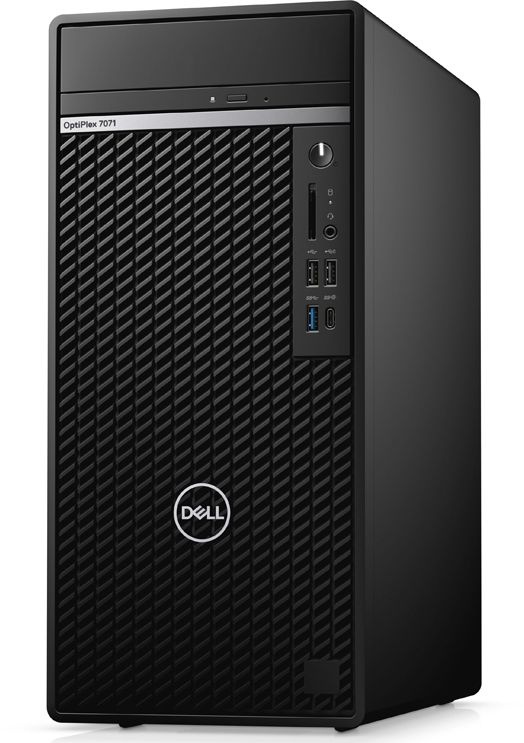 ПК Dell Optiplex 7071 MT Core i9 9900K (3.6)/16Gb/1Tb 7.2k/SSD512Gb/GTX1660 6Gb/DVDRW/CR/Windows 10 Professional/GbitEth