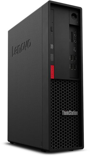 ПК Lenovo ThinkStation P330 SFF i7 9700 (3)/16Gb/1Tb 7.2k/SSD256Gb/P1000 4Gb/DVDRW/CR/Windows 10 Professional 64/GbitEth