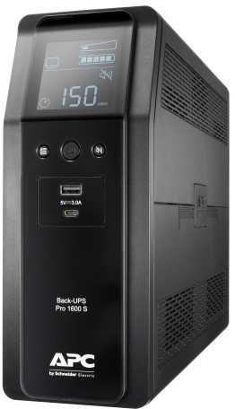 ИБП APC Back-UPS Pro BR1600SI 960Вт 1600ВА черный