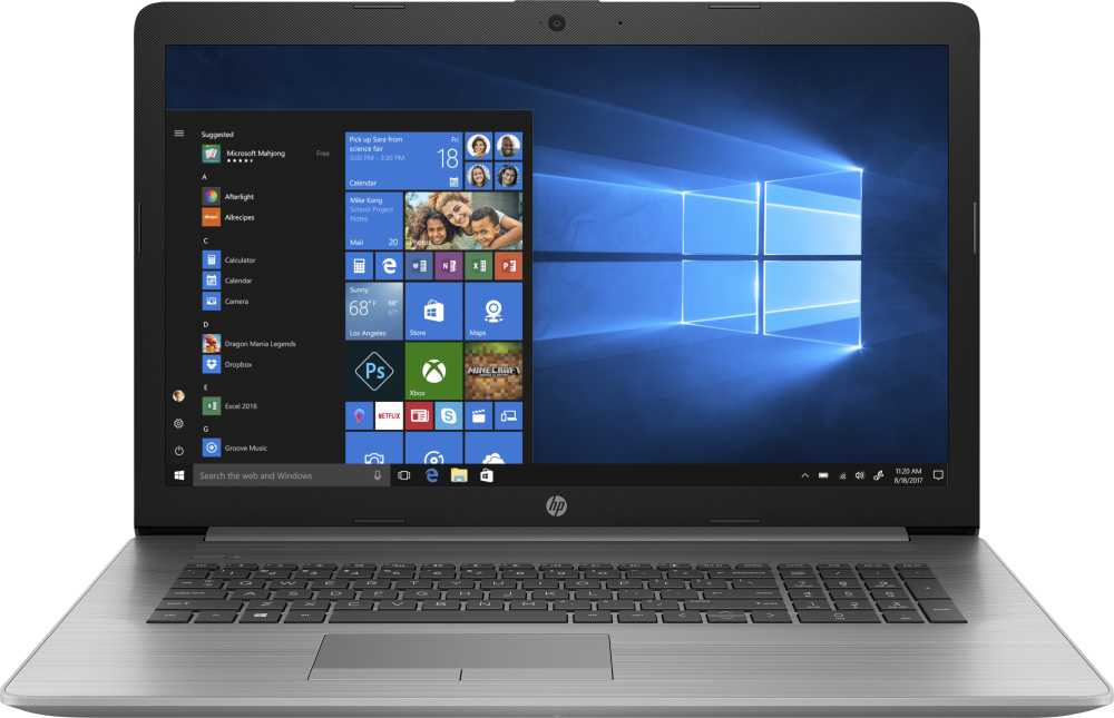 Ноутбук HP 470 G7 Core i5 10210U/16Gb/SSD512Gb/AMD Radeon 530 2Gb/17.3