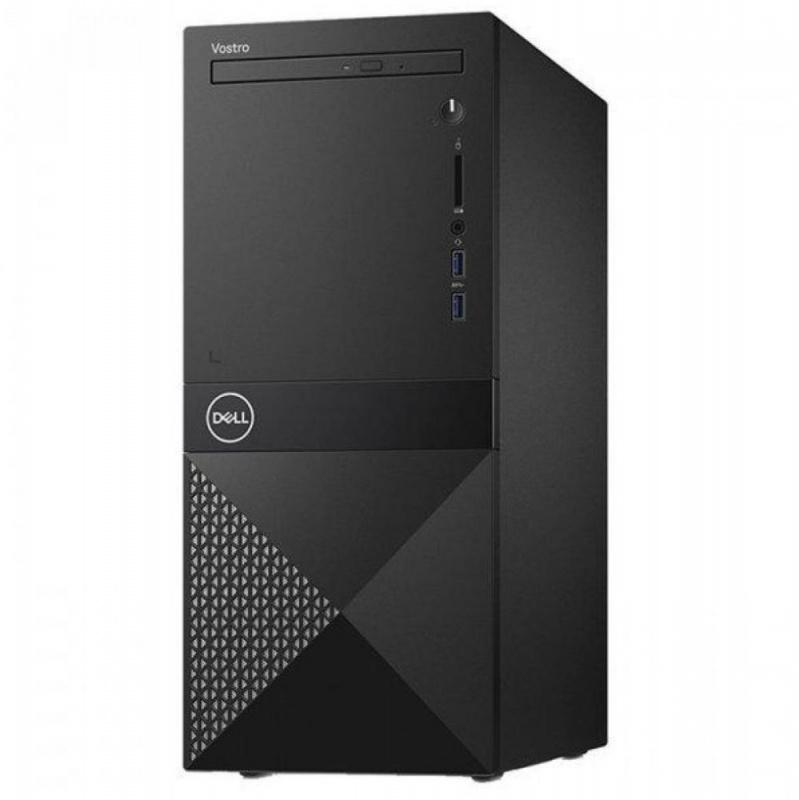 ПК Dell Vostro 3670 MT i3 9100 (3.6)/8Gb/1Tb 7.2k/UHDG 630/DVDRW/CR/Linux/GbitEth/WiFi/BT/290W/клавиатура/мышь/черный