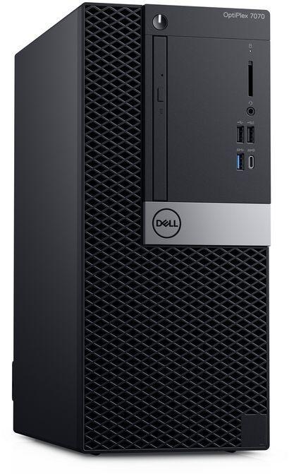 ПК Dell Optiplex 7070 MT i5 9500 (3)/8Gb/1Tb 7.2k/UHDG 630/DVDRW/Windows 10 Professional/GbitEth/260W/клавиатура/мышь/че