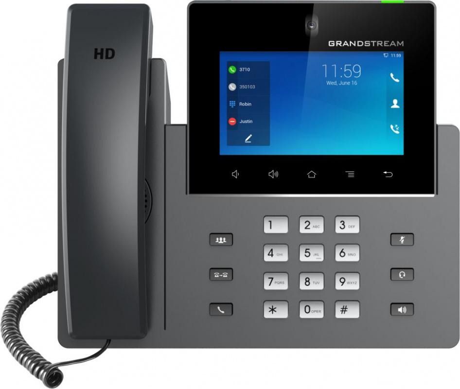 Телефон IP Grandstream GXV-3350 серый