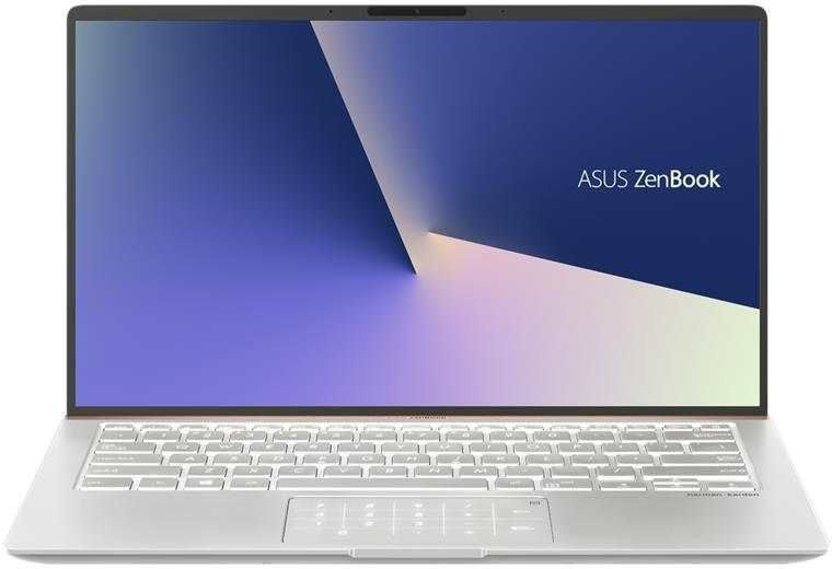 Ноутбук Asus Zenbook UX433FN-A5358T Core i5 8265U/8Gb/SSD512Gb/nVidia GeForce Mx150 2Gb/14