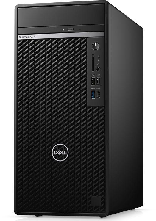 ПК Dell Optiplex 7071 MT i7 9700 (3)/16Gb/SSD512Gb/UHDG 630/DVDRW/CR/Linux/GbitEth/WiFi/BT/460W/клавиатура/мышь/черный/с