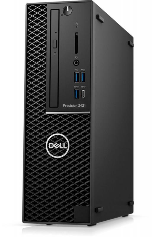 ПК Dell Precision 3431 SFF i5 9500 (3)/8Gb/SSD256Gb/P620 2Gb/DVDRW/CR/Windows 10 Professional/GbitEth/260W/клавиатура/мы
